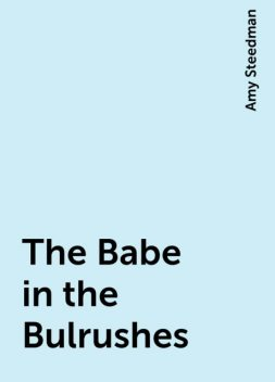 The Babe in the Bulrushes, Amy Steedman