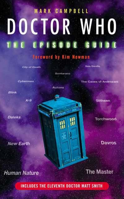 Doctor Who The Episode Guide, Mark Campbell