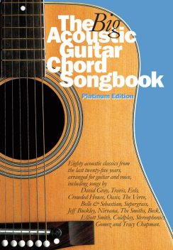 The Big Acoustic Guitar Chord Songbook (Platinum Edition), Wise Publications
