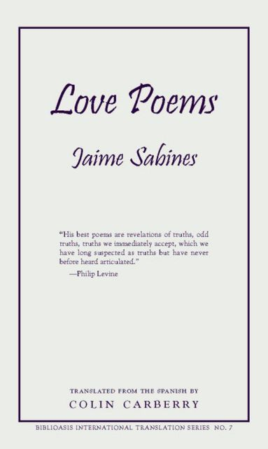 Love Poems, Jaime Sabines