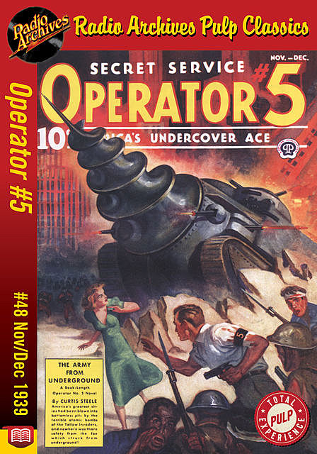 Operator #5 eBook #48 The Army from Unde, Curtis Steele