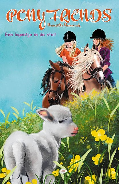 Pony Friends – Een logeetje in de stal, Henriëtte Hemmink