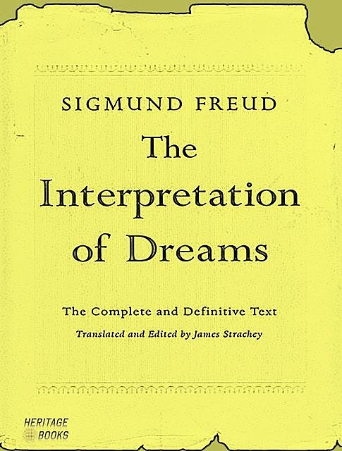 The Interpretation of Dreams, Sigmund Freud, Bruno Gartman