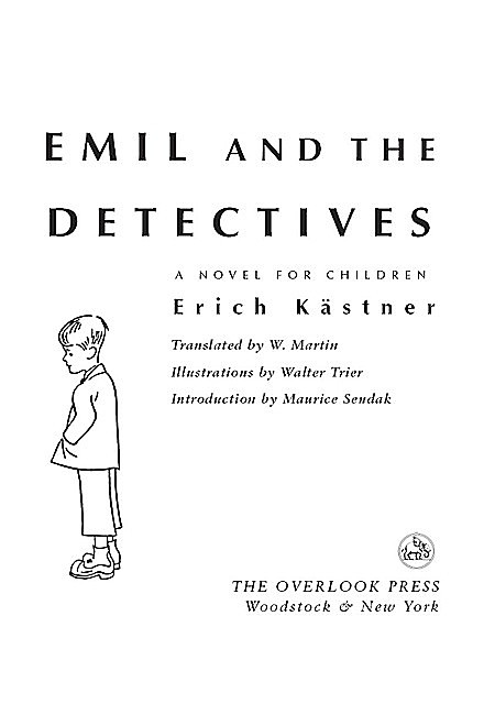 Emil and the Detectives, Maurice Sendak, Maurice