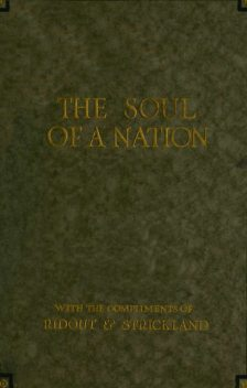 The Soul of a Nation, Philip Gibbs