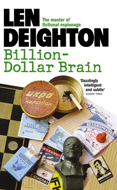 Billion-Dollar Brain, Len Deighton