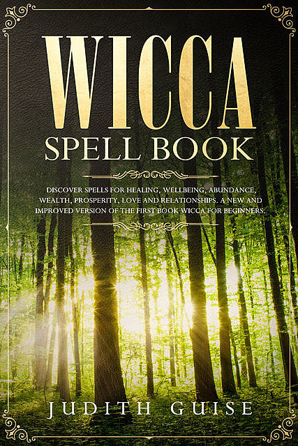 Wicca Spell Book, Judith Guise