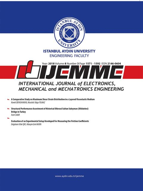 iJEMME, Mechanical Engineering, Mechatronics Engineering, nternational Journal of Electronics