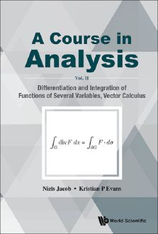 A Course in Analysis, Kristian P Evans, Niels Jacob