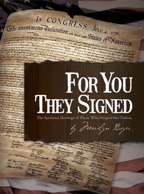 For You They Signed, Marilyn Boyer