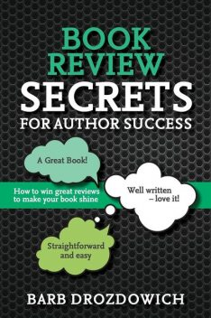 Book Reviews for Author Success, Barb Drozdowich