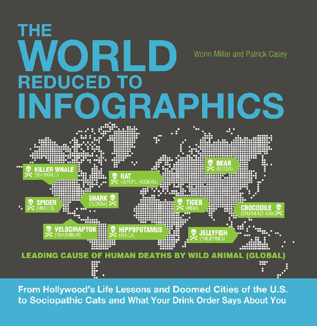 The World Reduced to Infographics, Josh Miller, Patrick Casey