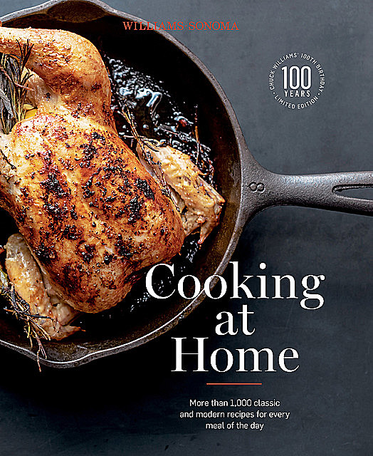 Williams-Sonoma Cooking at Home, Chuck Williams