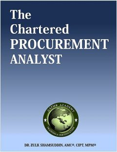 The Chartered Procurement Analyst, Zulk Shamsuddin