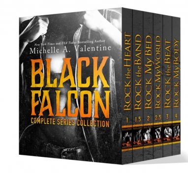 Black Falcon: Complete Series Collection, Valentine, Michelle