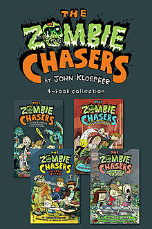 Zombie Chasers 4-Book Collection, John Kloepfer