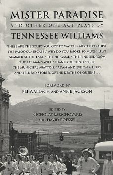 Mister Paradise and Other One-Act Plays, Tennessee Williams