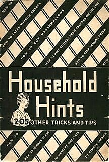 Household Hints,