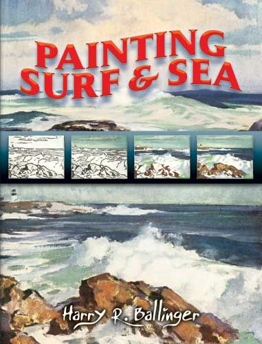 Painting Surf and Sea, Harry R.Ballinger