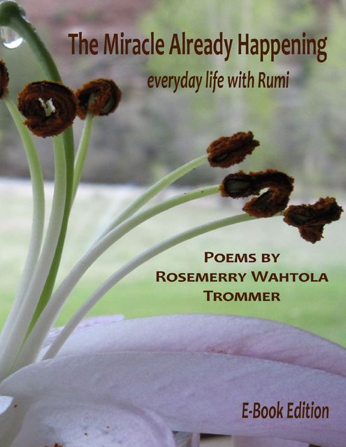 The Miracle Already Happening: Everyday Life with Rumi: E-Book Edition, Rosemerry Wahtola Trommer