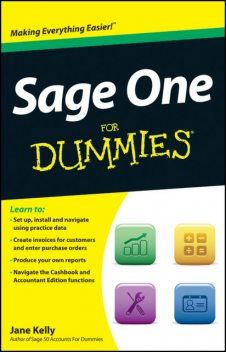 Sage One For Dummies, Jane Kelly