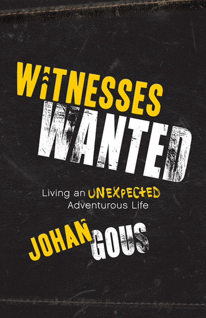 Witnesses Wanted, Johan Gous