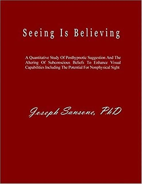 Seeing Is Believing, Joseph Sansone