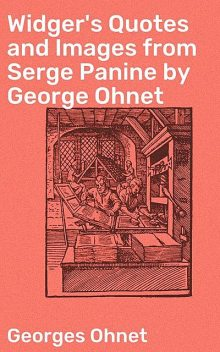 Widger's Quotes and Images from Serge Panine by George Ohnet, Georges Ohnet