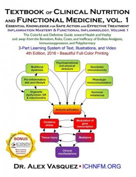 Textbook of Clinical Nutrition and Functional Medicine, vol. 1, Alex Vasquez