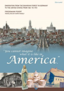 """You cannot imagine what it is like in America."", Friedemann Fegert"