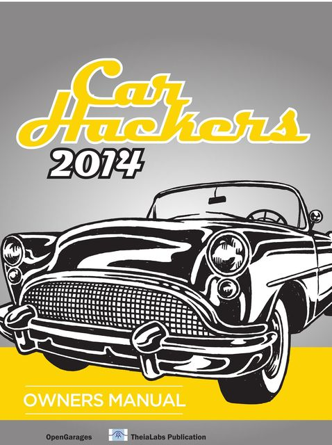2014 Car Hacker's Manual, Craig Smith