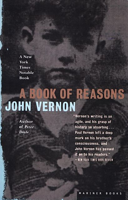 A Book of Reasons, John Vernon