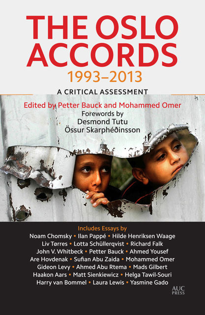 The Oslo Accords, Desmond Tutu, Össur Skarphéðinsson