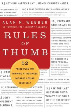 Rules of Thumb, Alan M.Webber