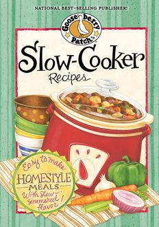 Slow Cooker Recipes, Gooseberry Patch
