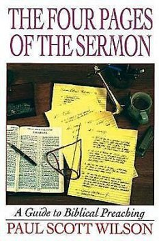 The Four Pages of the Sermon, Paul Wilson