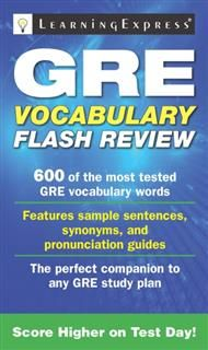 GRE Vocabulary Flash Review, LearningExpress LLC