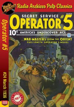 Operator #5 eBook #24 War Masters from t, Curtis Steele