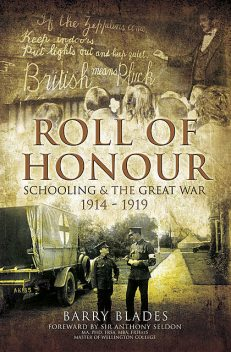 Roll of Honour, Barry Blades