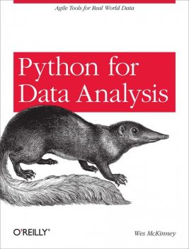 Python for Data Analysis, Wes McKinney