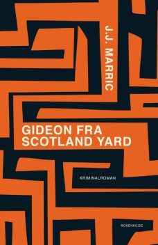 Gideon fra Scotland Yard, J.J. Marric