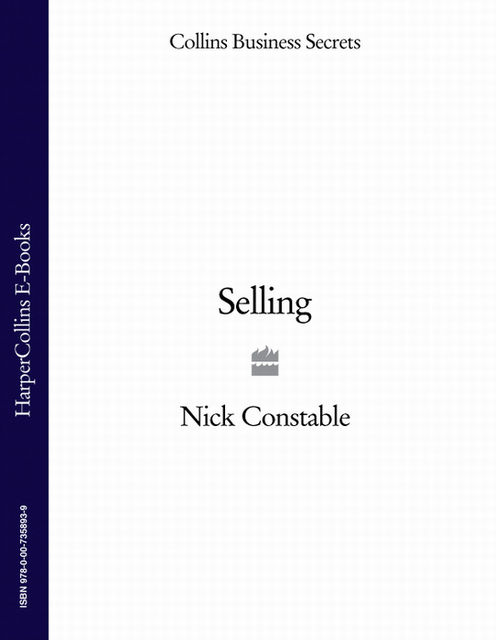 Selling (Collins Business Secrets), Nick Constable