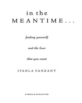 In the Meantime, Iyanla Vanzant