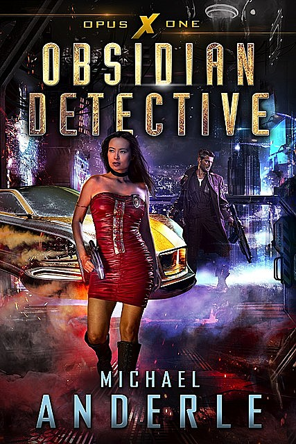 Obsidian Detective, Michael Anderle
