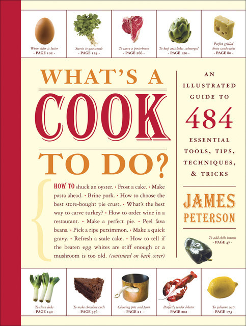 What's a Cook to Do?, James Peterson