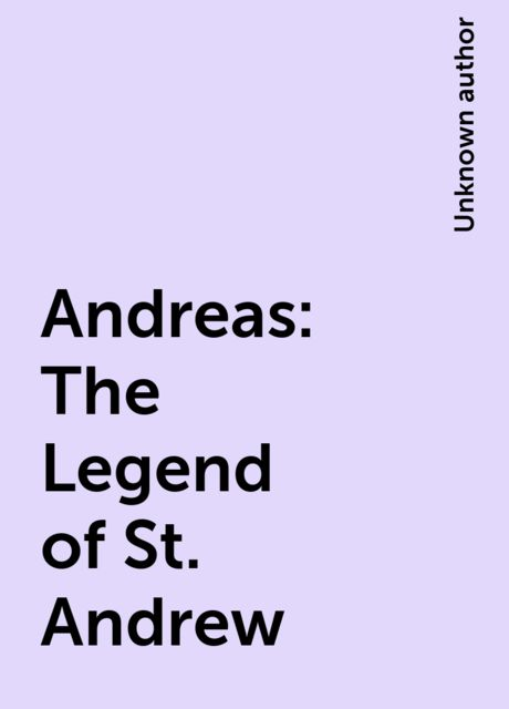 Andreas: The Legend of St. Andrew,