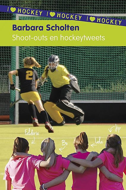 Shoot-outs en hockeytweets, Barbara Scholten