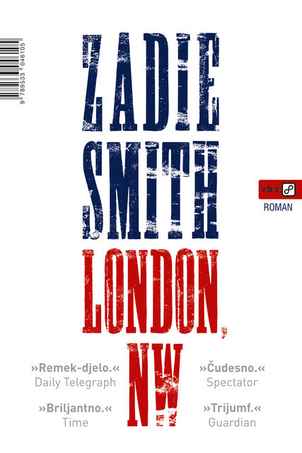 London, NW, Zadie Smith