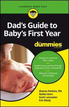 Dad's Guide to Baby's First Year For Dummies, Eric Mooij, Scott Lancaster, Stefan Korn, Sharon Perkins