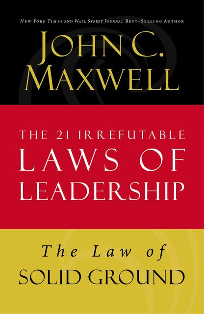 The Law of Solid Ground, Maxwell John